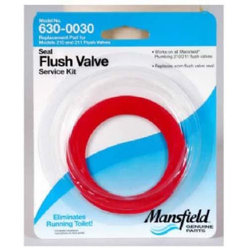 10. Mansfield Plumbing 0030 Flush Valve Service Pack, Fits 210/211 Flush Valve