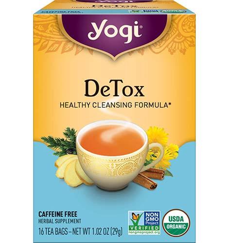 1. Yogi Tea - DeTox Tea