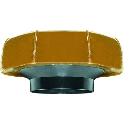4. Fluidmaster 7513 Extra Thick Wax Toilet Bowl Gasket with Flange, for 3-Inch and 4-Inch Waste Lines