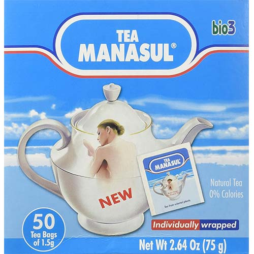 6. 50 Amazing Weight Loss Diet Slimming Detox Cleansing Manasul Organic Natural Herbal Senna Plant Tea Bags