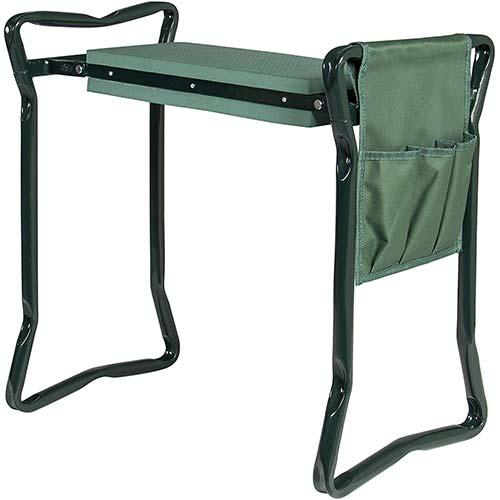 4. Best Choice Products Foldable Lightweight Garden Stool Kneeler