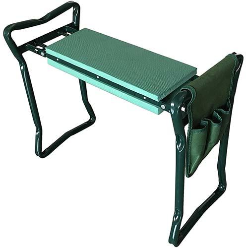 6. SueSport Folding Garden Bench Seat Stool Kneeler
