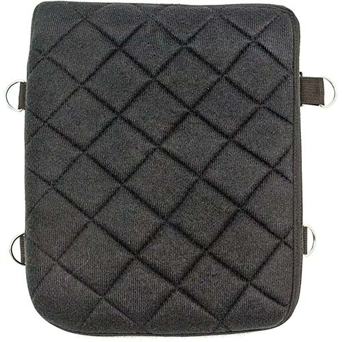 3. Gel Pad Seat Cushion for Motorcycles with Memory Foam (Passenger)