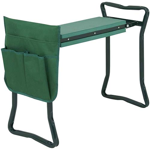 8. ZENY Folding Garden Kneeler Bench Seat Stool