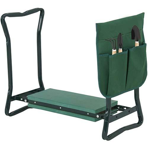 7. BBBuy Folding Garden Kneeler Bench Stool