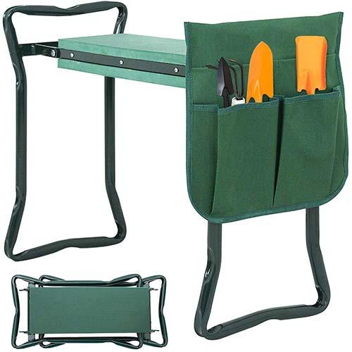 1. SUPER DEAL Newest Folding Garden Kneeler and Seat