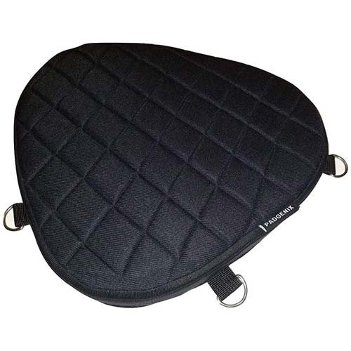 10. PadGenix Motorcycle Driver Front Gel Pad Cushion Seat fits Indian Chief Vintage 2012 Memory Foam Padding and Shock Impact Absorption Cushioning Material