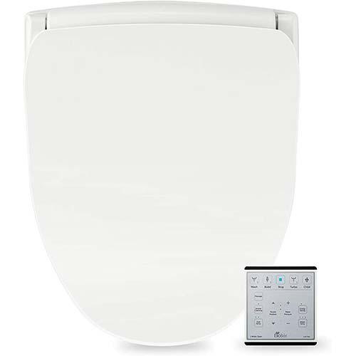 10. Bio Bidet Slim Two Smart Toilet Seat in Elongated White