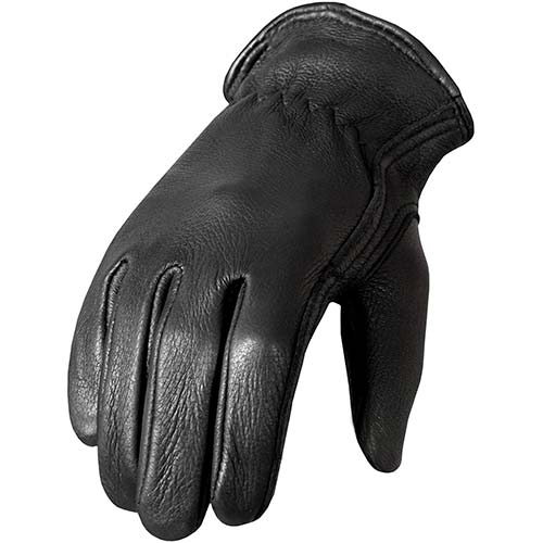 7. Hot Leathers Classic Deerskin Unlined Driving Gloves