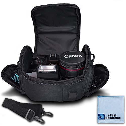 3. Medium Soft Padded Camera Equipment Bag / Case for Nikon, Canon, Sony, Pentax, Olympus Panasonic, Samsung & Many More