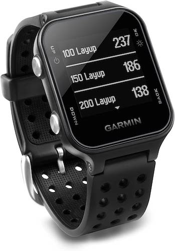 1.Garmin Approach S20, GPS Golf Watch with Step Tracking, Preloaded Courses