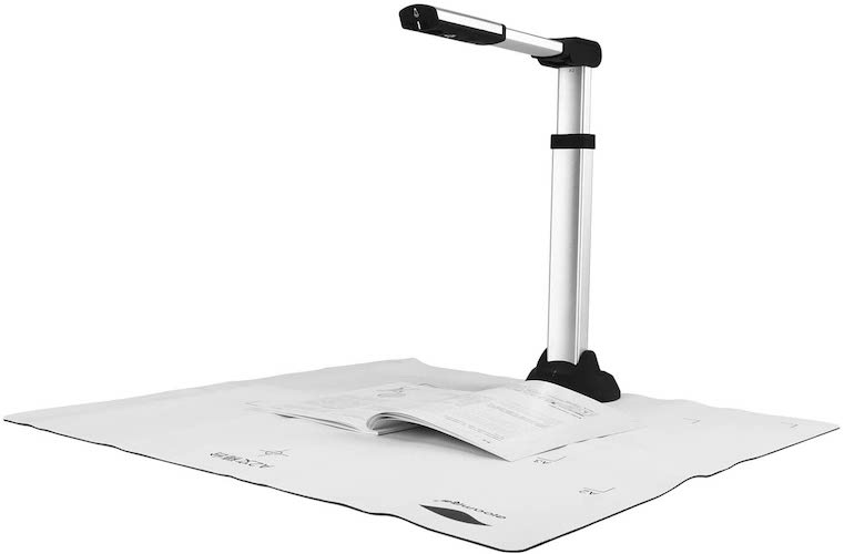 10. eloam Document Camera with HD CMOS Sensor and OCR Function Time Shooting