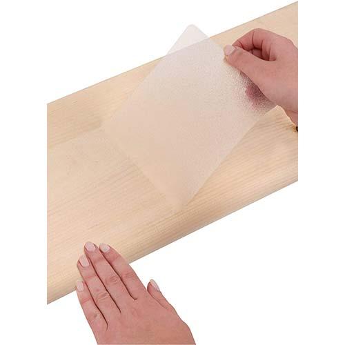 "5. 6""x30"" Non-Slip Stair Treads Tape (14-Pack) – Clear Anti-Slip Grip Strips"