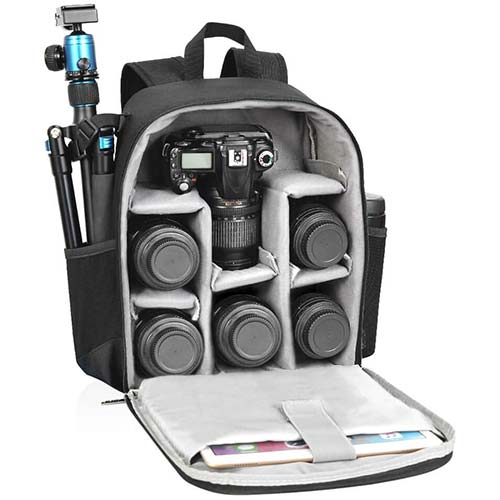 1. CADeN Camera Backpack Bag Professional for DSLR/SLR Mirrorless Camera Waterproof, Camera Case