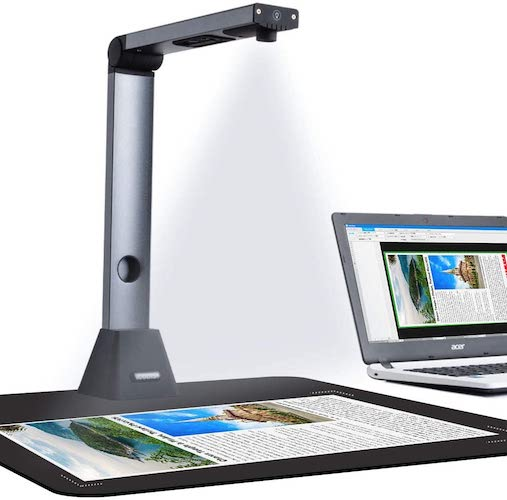 3. iCODIS Document Camera X3, High Definition Portable Scanner
