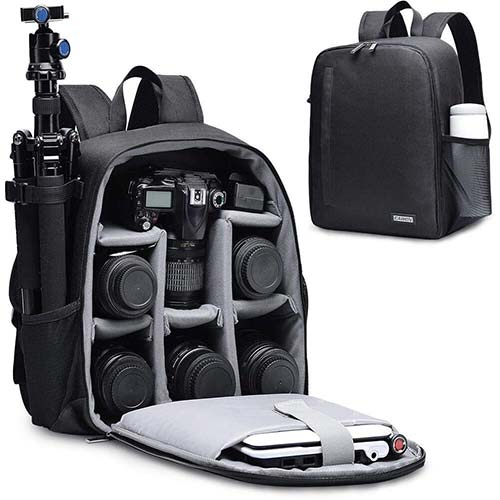 2. CADEN DSLR SLR Camera Bag Backpack for Mirrorless Cameras/Photographers, Camera Case Backpack