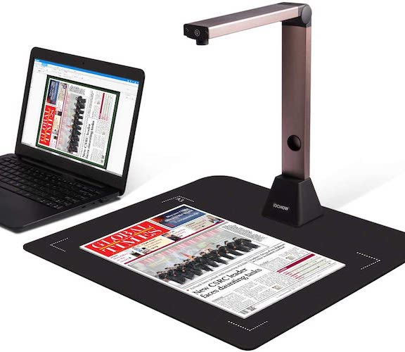 5. Document Camera iOCHOW S1, High Definition Portable Scanner