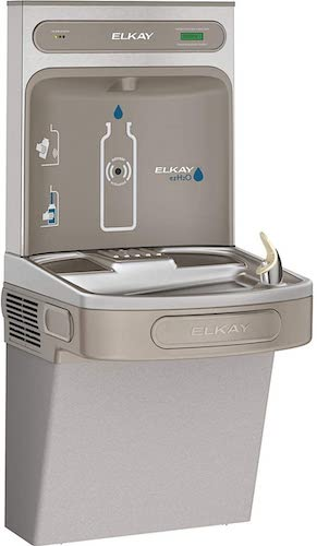 1. Elkay LZS8WSLK EZH2O Bottle Filling Station with Single ADA Cooler