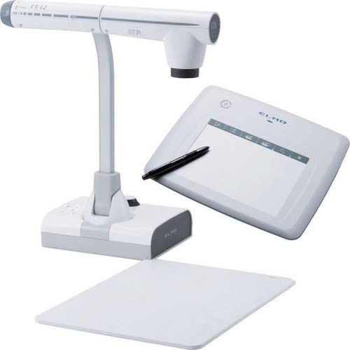8.Elmo Classroom VISION Bundle system of the TT-12 Document Camera and CRA-1 Wireless Tablet