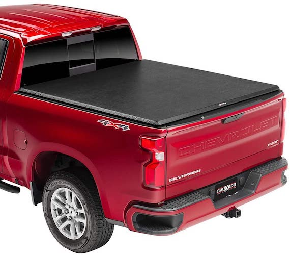 4.TruXedoTruXport Soft Roll Up Truck Bed Tonneau Cover