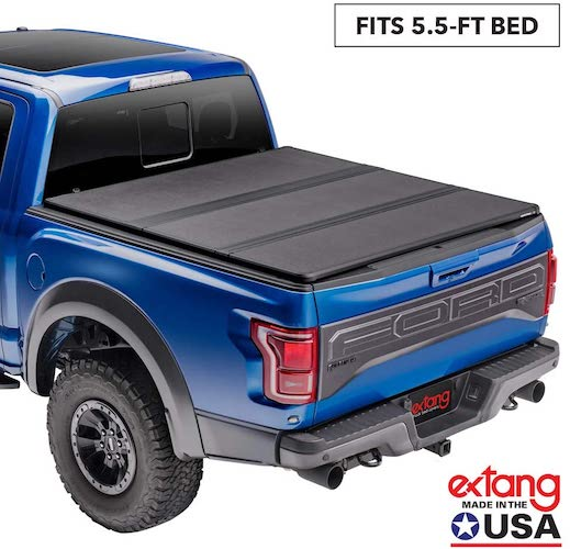 1.Extang Solid Fold 2.0 Hard Folding Truck Bed Tonneau Cover | 83475 | Fits 15-20 Ford F150 5'6