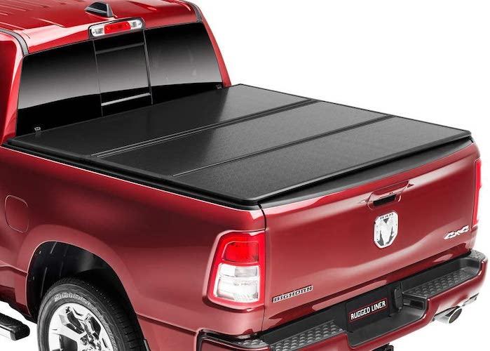 9.Rugged Liner E-Series Hard Folding Truck Bed Tonneau Cover | EH-D6509