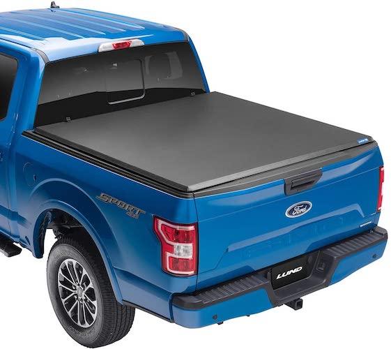 5.Lund Hard Tri-Fold Hard Folding Truck Bed Tonneau Cover | 969165
