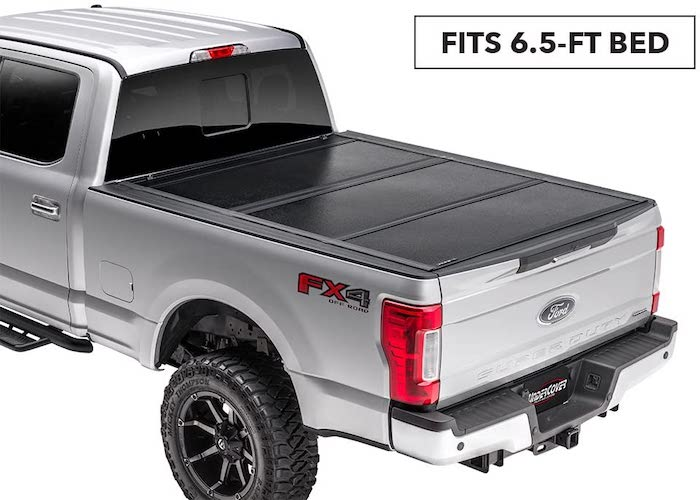 7.Undercover Flex Hard Folding Truck Bed Tonneau Cover | FX21021 | Fits 17-20 Ford F-250/ F-350 6'9