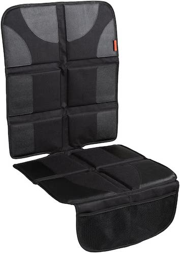 1.Lusso Gear Car Seat Protector with Thickest Padding