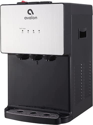 5. Avalon A12 Countertop Bottleless Water Dispenser, 3 Temperatures, Self Cleaning, Stainless Steel