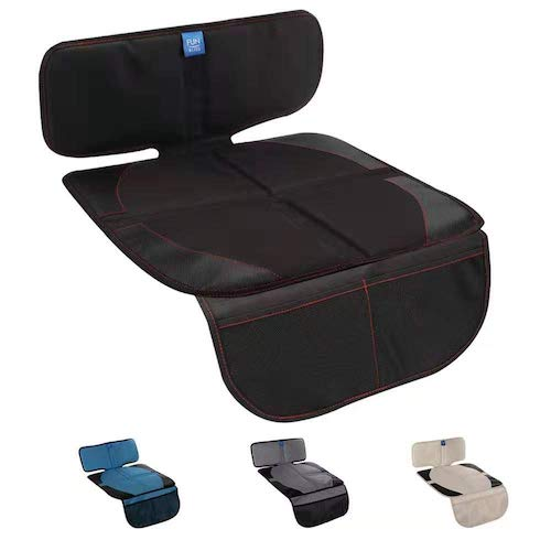 8.Funbliss Car Seat Protector for Baby Child Car Seats - Auto Seat Cover Mat for Under Car seat
