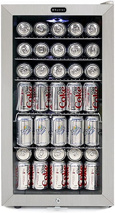 5. Whynter BR-128WS Beverage Refrigerator