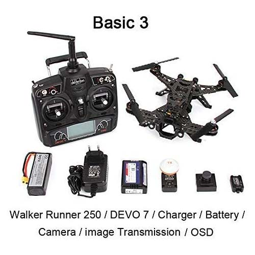4. XiangtatWalkera Runner 250 Drone Racer Modular Design Hd Camera 250 Size Racing QuadcopterDrone