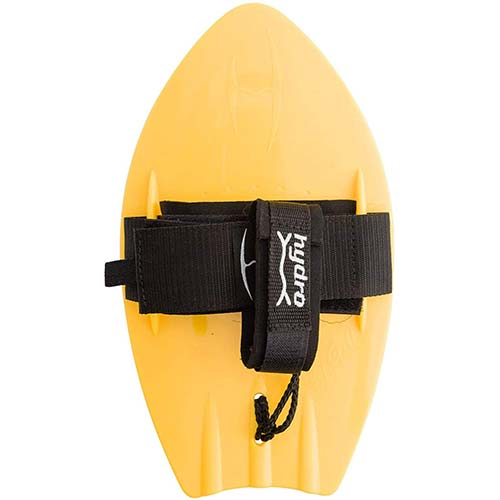 8. Hydro Body Surfer PRO Handboard - Yellow - Hand surfer enables the rider to plane more quickly