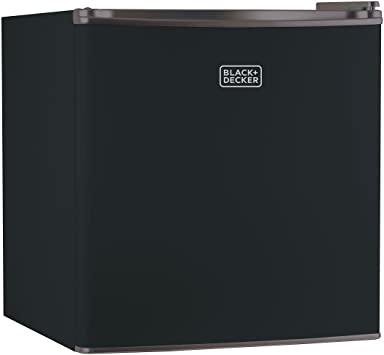 2. BLACK+DECKER BCRK17B Compact Refrigerator