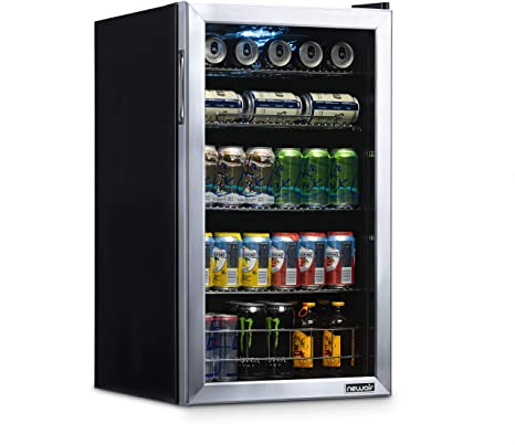4. NewAir NBC126SS02 Beverage Refrigerator and Cooler