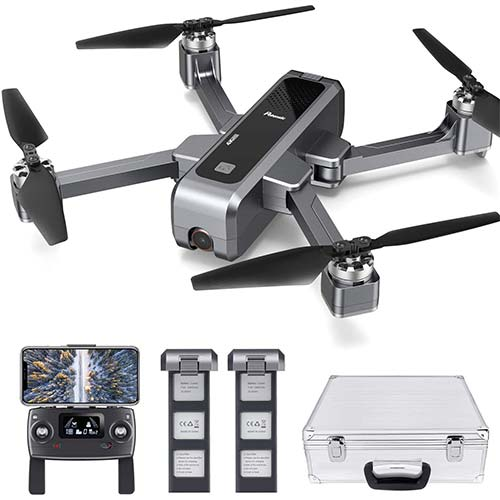 2. Potensic D88 Foldable Drone, 5G WiFi FPV Drone with 2K Camera, RC Quadcopter for Adults and Experts