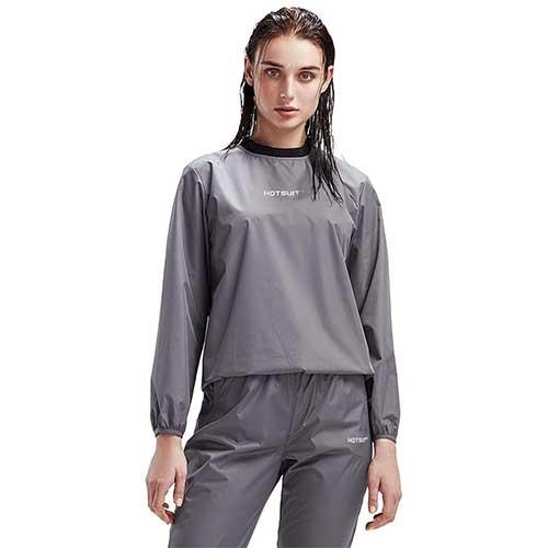 9. HOTSUIT Sauna Suit Women Weight Loss Gym Workout Sauna Jacket Pants Sweat Suits
