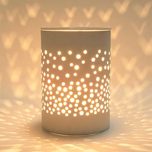 1. Bobolyn Ceramic Electric Wax Melt Warmer Candle Waxing Warmer Burner Melt Wax Cube Melter Fragrance Warmer