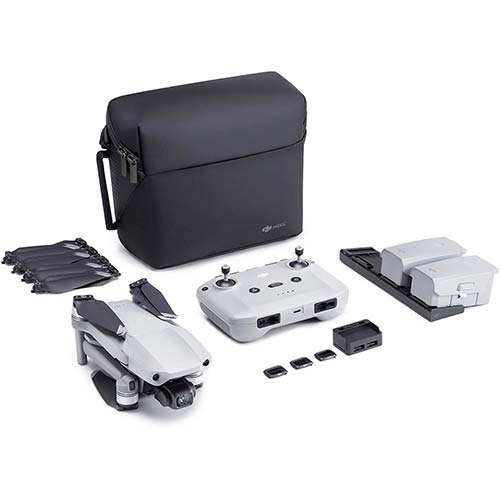 1. NEW DJI Mavic Air 2 Fly More Combo - Drone Quadcopter UAV with 48MP Camera 4K Video