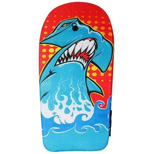 3. BIGTREE Bodyboard Kickboard Surfing Skimboard Wake Boogie Board Pool