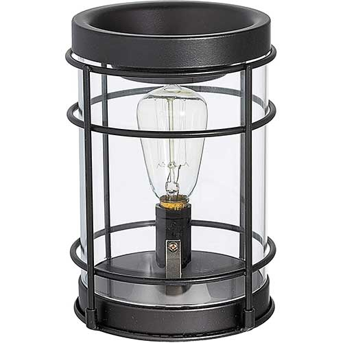 6. Edison Bulb Electric Candle Warmer with Timer | Plug in Fragrance Warmer