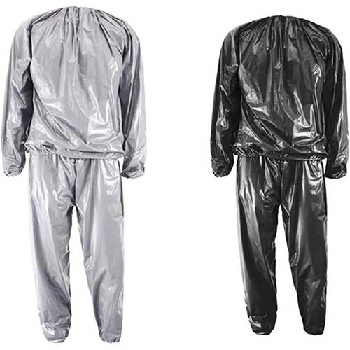 2. XINSHUN Sweat Sauna Suits Weight Loss Gym Exercise for Men and Women