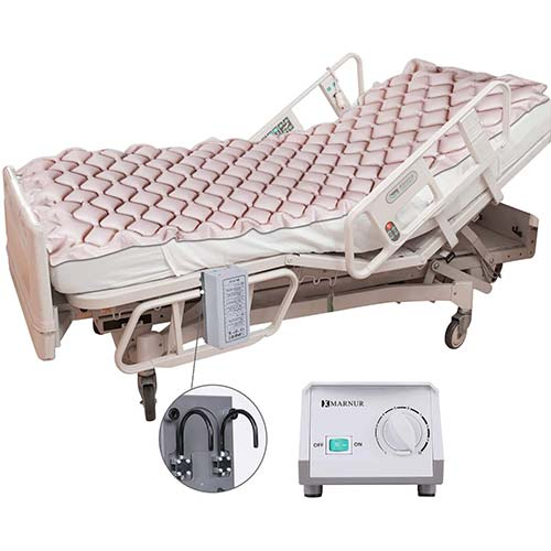 3. MARNUR Alternating Pressure Mattress Medical Air Mattress with Inflatable Pad & Electric Pump System