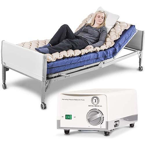7. Premium Alternating Air Pressure Mattress for Medical Bed - Pressure Sore and Pressure Ulcer Relief