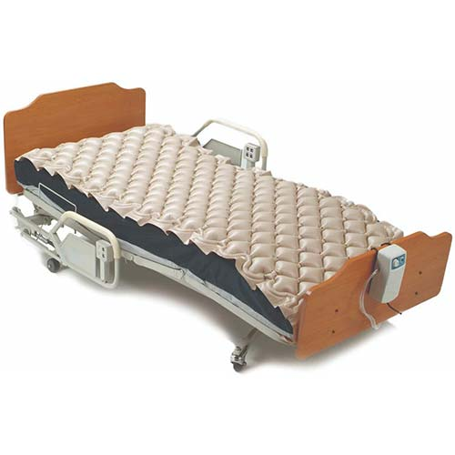 4. Meridian Alternating Pressure Mattress with Electric Pump - Bed Sore Prevention and Hospital Bed Air Mattress