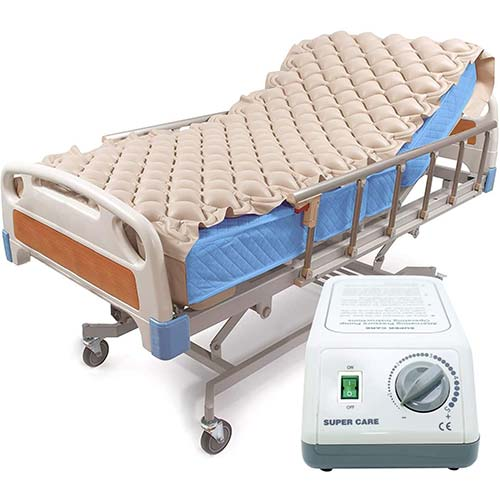 5. Alternating Pressure Mattress Pad & Electric Pump System, Medical Mattress for Bedsore Prevention and Pressure Ulcer Relief