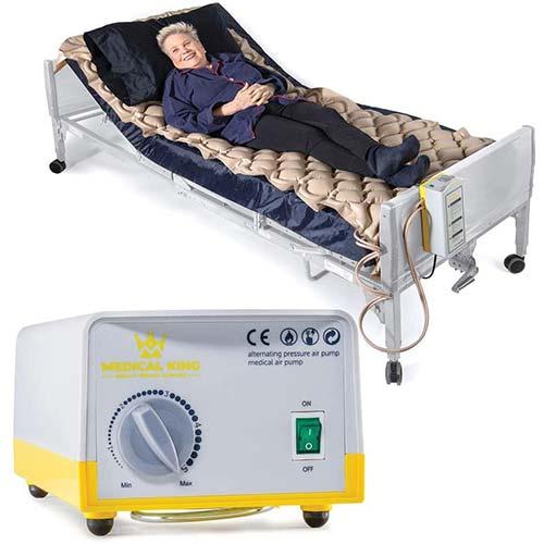 6. Air Mattress for Hospital Bed Or Home Bed, Includes Electric Quiet Air Pump - Medical Air Mattress, Low Air Loss Mattress