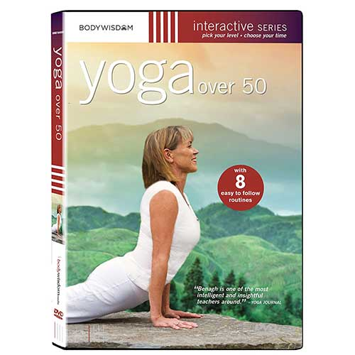 7. Yoga over 50 DVD - Workout Video with 8 Routines, including routines for Seniors