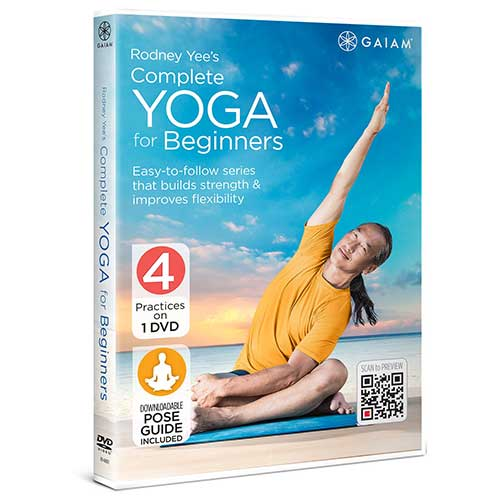 5. Rodney Yee's Complete Yoga for Beginners